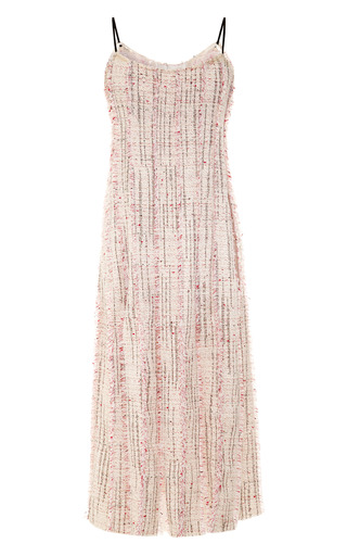Pleated Tweed Dress by TOME for Preorder on Moda Operandi