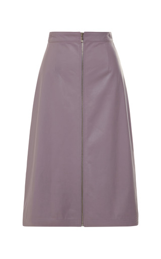 Medium tome purple a line skirt with zipper