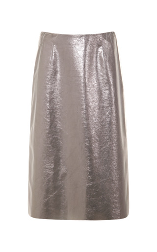 Medium tome silver skirt with tulle