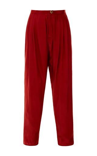 Pleated Pant by TOME for Preorder on Moda Operandi
