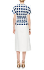 Calle Double Cotton Midi Skirt by MOTHER OF PEARL Now Available on Moda Operandi