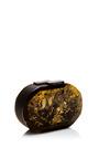 Oval Cut Gemstone Clutch by RAUWOLF for Preorder on Moda Operandi
