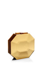 Octagon Cut Gemstone Clutch by RAUWOLF for Preorder on Moda Operandi