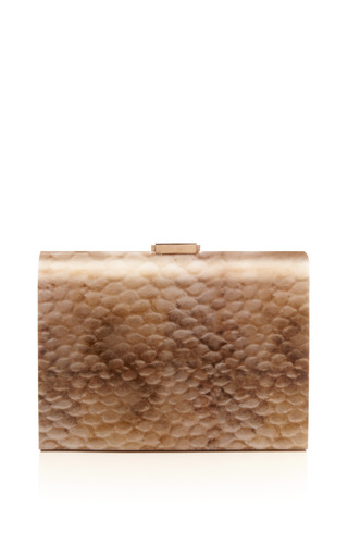 Medium rauwolf brown venice clutch 2