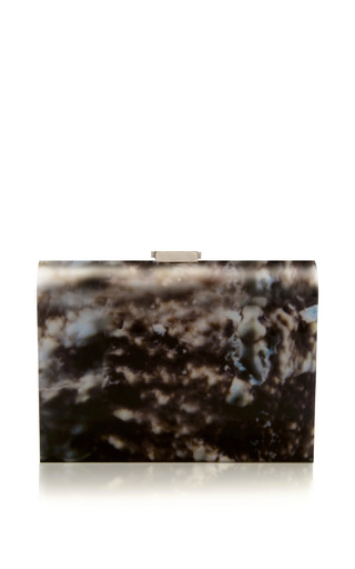 Medium rauwolf brown venice clutch