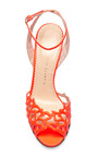 Coralena Cutout Leather Sandals by CHARLOTTE OLYMPIA Now Available on Moda Operandi