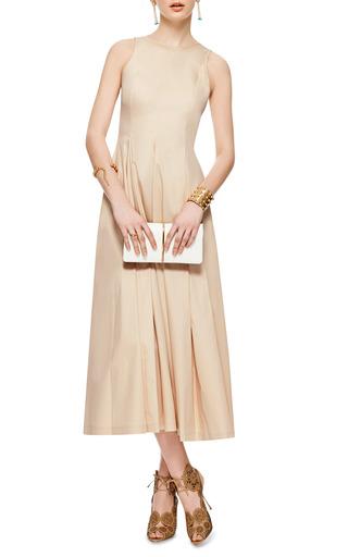 Stretch Cotton Midi Dress by ROCHAS Now Available on Moda Operandi