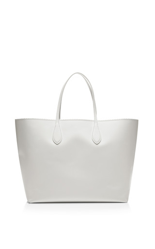 Zipper Detail Leather Tote by ROCHAS Now Available on Moda Operandi