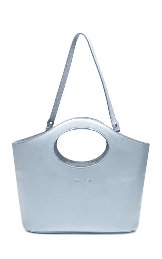 Grained Leather Tote by ROCHAS Now Available on Moda Operandi