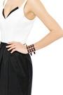 Studded Leather Cuff Bracelet by VALENTINO Now Available on Moda Operandi