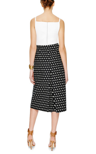 Rocklin Quilted Crepe Top by PREEN BY THORNTON BREGAZZI Now Available on Moda Operandi