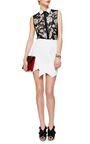 Aero Quilted Crepe Skirt by PREEN BY THORNTON BREGAZZI Now Available on Moda Operandi