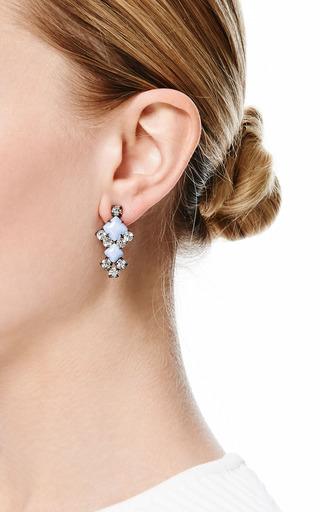 Neopolitano Geometric Drop Earrings by TOM BINNS Now Available on Moda Operandi