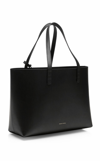 Small Coated Interior Leather Tote by MANSUR GAVRIEL Now Available on Moda Operandi