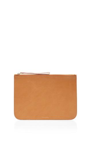 Medium mansur gavriel large coated interior leather wallet