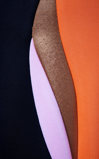 Josh Goot Paneled Neoprene Dress by JOSH GOOT Now Available on Moda Operandi