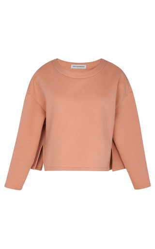 Medium vika gazinskaya cotton jersey sweatshirt