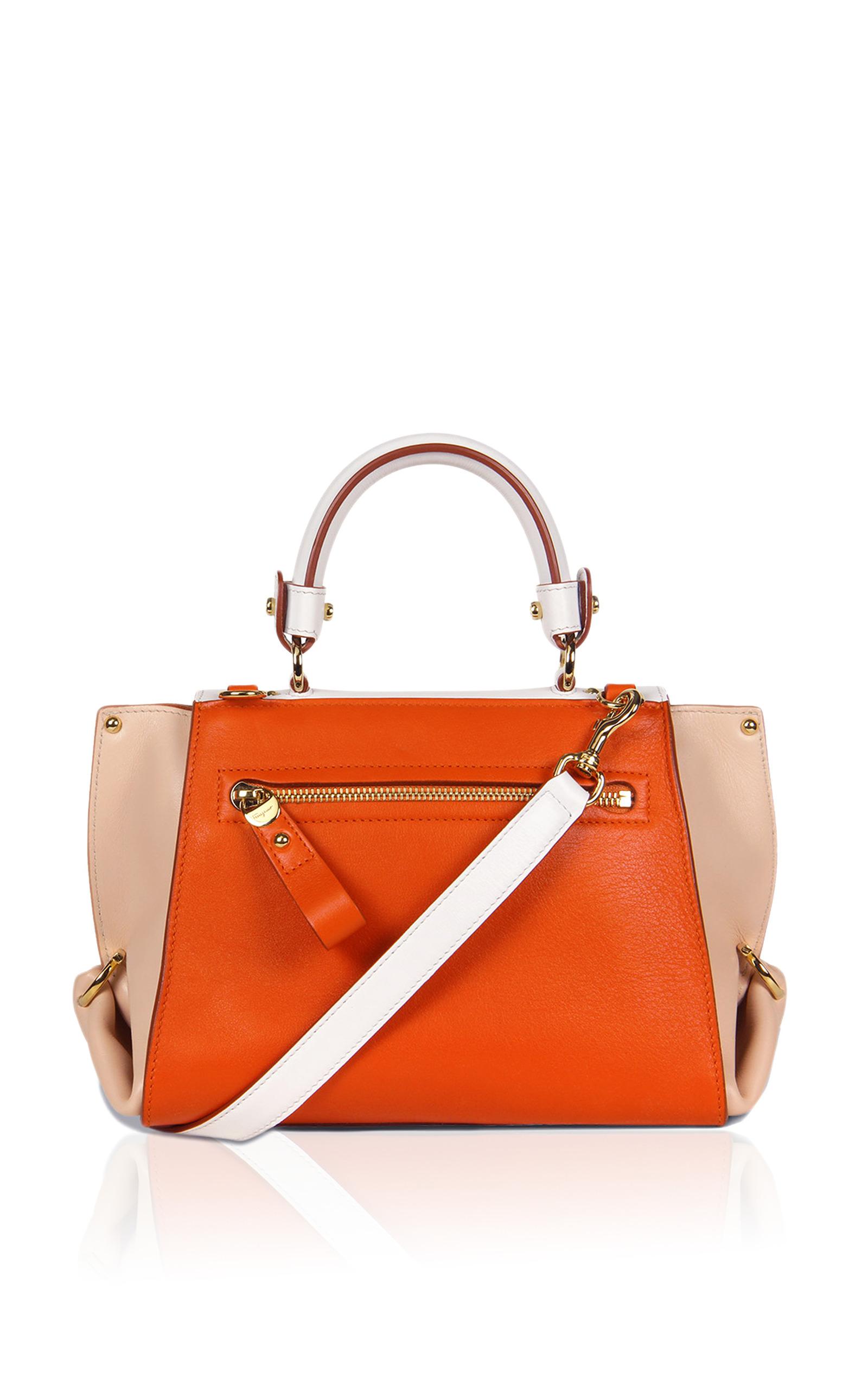 9e4087e594 Salvatore FerragamoSmall Sofia In Deep Orange. CLOSE. Loading. Loading