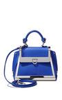 Mini Sofia In Bright Blue by SALVATORE FERRAGAMO for Preorder on Moda Operandi