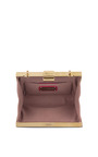 Dolly Minaudiere In Deep Fuchsia by SALVATORE FERRAGAMO for Preorder on Moda Operandi
