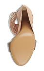 Pulcket Sandal In Beige Quartz by SALVATORE FERRAGAMO for Preorder on Moda Operandi