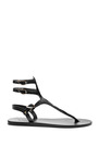 Themis Calf Hair And Leather Sandals by ANCIENT GREEK SANDALS Now Available on Moda Operandi