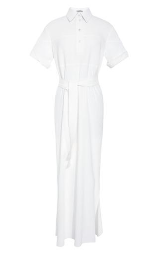 Medium rosie assoulin white full length shirt dress