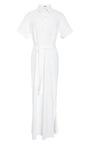Full Length Shirt Dress by ROSIE ASSOULIN Now Available on Moda Operandi