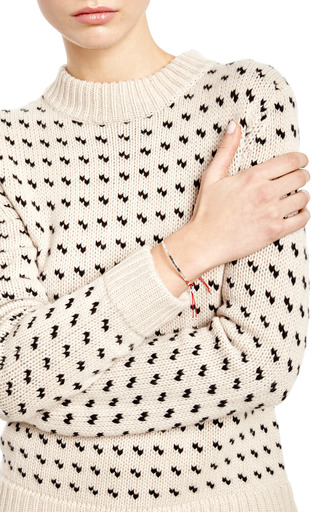 Silver Plaque Love Bracelet by GAG & LOU Now Available on Moda Operandi