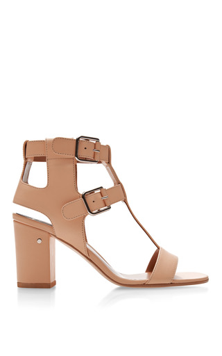 Medium laurence dacade nude diane t bar leather sandals