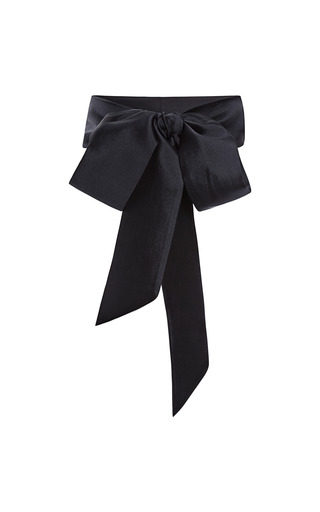 Medium harvey faircloth navy silk and wool sash