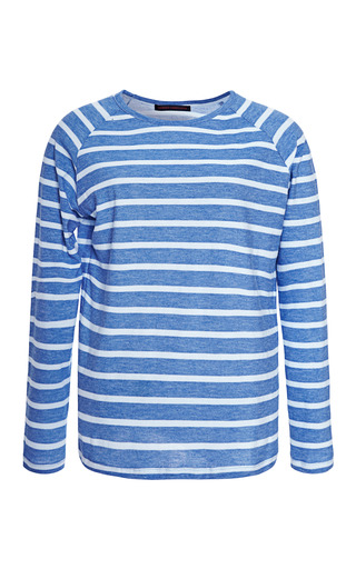 Medium harvey faircloth striped cotton top