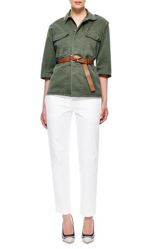 Cotton Military Shirt by HARVEY FAIRCLOTH Now Available on Moda Operandi
