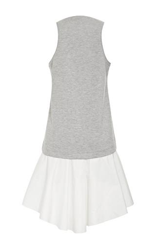 Heather Grey Italian Ponte Tank Dress by TIBI for Preorder on Moda Operandi