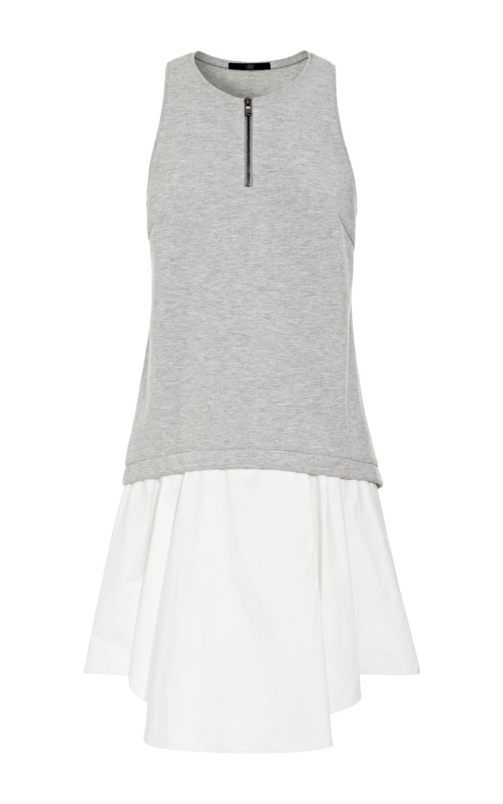 Heather grey italian ponte tank dress by tibi moda operandi loading ombrellifo Image collections