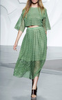 Sonoran Eyelet Skirt by TIBI for Preorder on Moda Operandi