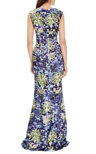 Floral Print Satin Gown by MARY KATRANTZOU Now Available on Moda Operandi