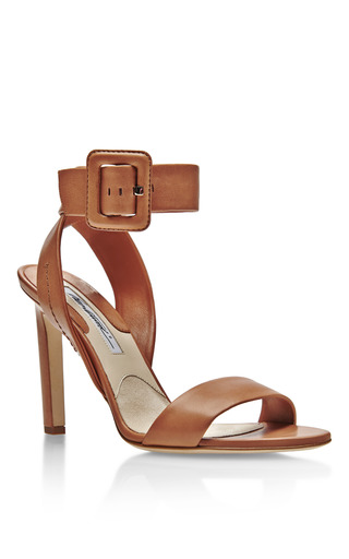 Arizona Ankle Wrap Leather Sandals by BRIAN ATWOOD Now Available on Moda Operandi