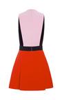 Color Block Cady Mini Dress by FAUSTO PUGLISI for Preorder on Moda Operandi