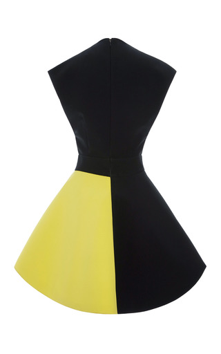Color Blocked Cady Crinoline Dress by FAUSTO PUGLISI for Preorder on Moda Operandi