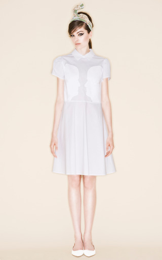 Medium vivetta white apelle dress