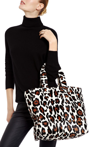 Printed Calf Hair Tote by KULE Now Available on Moda Operandi