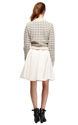 Cashmere Crew Neck Knit Sweater by KULE Now Available on Moda Operandi