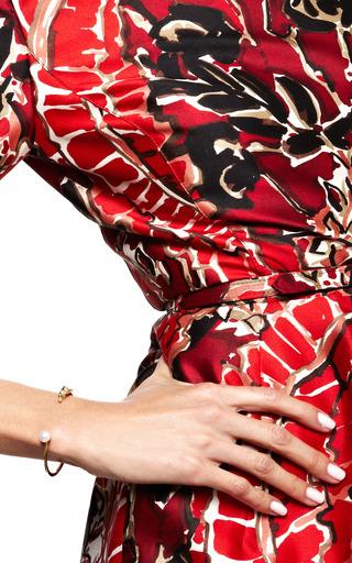 Bee And White Pearl Bracelet by DELFINA DELETTREZ for Preorder on Moda Operandi