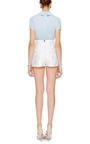 Apollonia Embroidered Cotton Poplin Shirt by VIVETTA Now Available on Moda Operandi