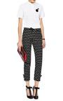 Iulli Cropped Polka Dot Trousers by VIVETTA Now Available on Moda Operandi