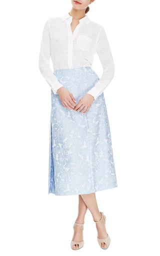 Lidya Floral Jacquard Midi Skirt by VIVETTA Now Available on Moda Operandi