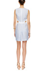 Rosa Cut Out Linen Dress by VIVETTA Now Available on Moda Operandi