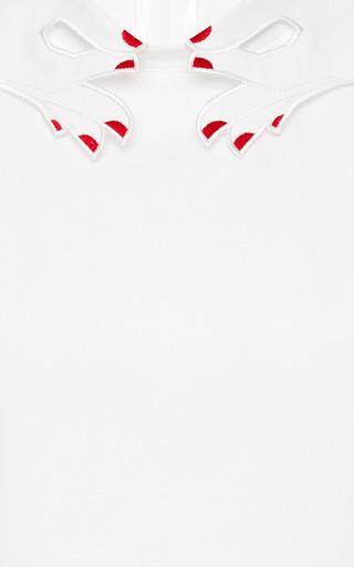 Sandra Embroidered Cotton Shirt by VIVETTA Now Available on Moda Operandi