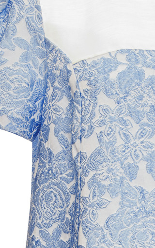 Willy Jacquard Baby Doll Top by VIVETTA Now Available on Moda Operandi